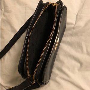 3de56d2f513b Tory Burch Bags - Tory Burch Ivy Micro Black Leather Crossbody Purse